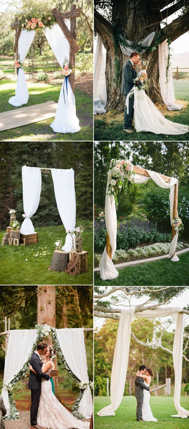 Rustic Wedding Altars Chic And Easy Rustic Wedding Arch Ideas For Diy Brides Satnw