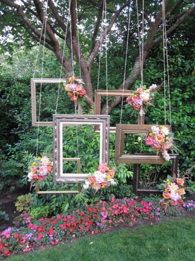 Rustic Wedding Decor Diy Decorating Diy Rustic Wedding Frame Backdrops 25 Cheap And Simple