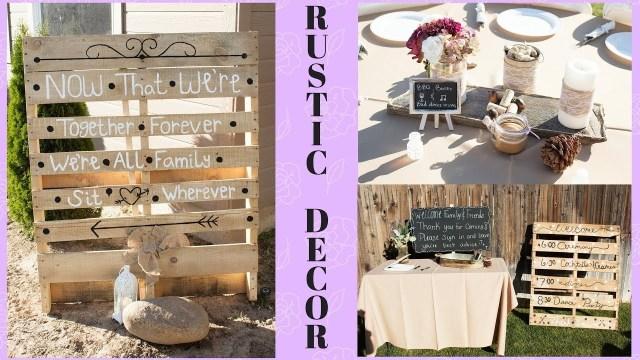 Rustic Wedding Decor Diy Diy Rustic Wedding Decor On A Budget Centerpieces