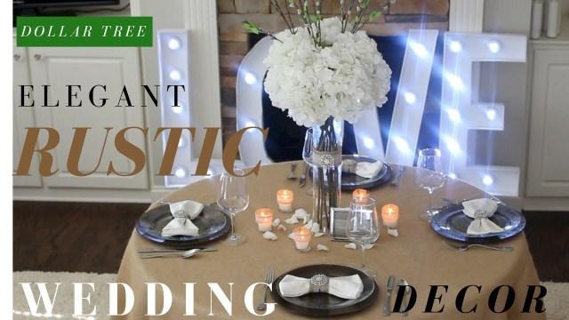 Rustic Wedding Decor Diy Diy Rustic Wedding Decoration Ideas Dollar Tree Diy Wedding