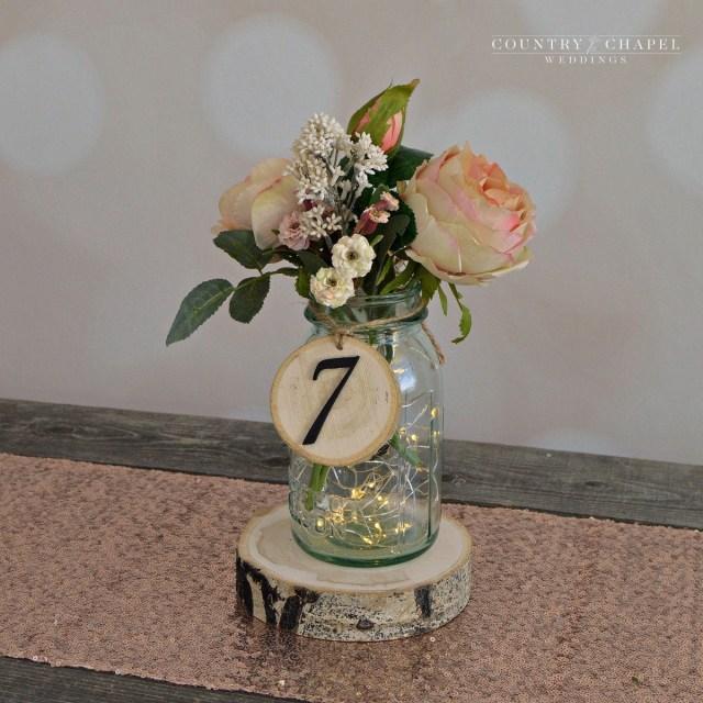 Rustic Wedding Diy Rustic Wedding Tree Slice Table Numbers Spring Wedding Diy Etsy