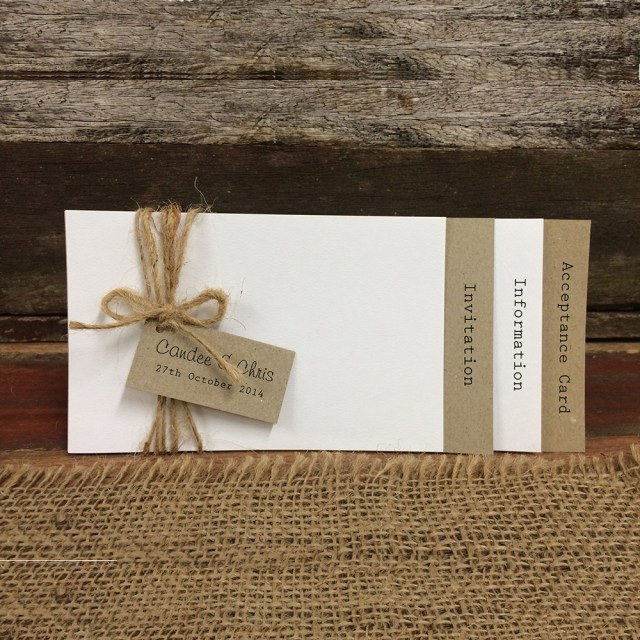 Rustic Wedding Invitation Rustic Love Wedding Invitation Sample Pack