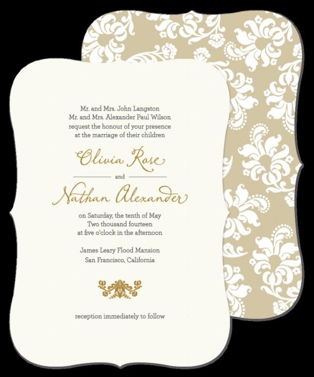 Sample Wedding Invitation Wedding Ideas Wedding Invitations Samples Grandioseparlor