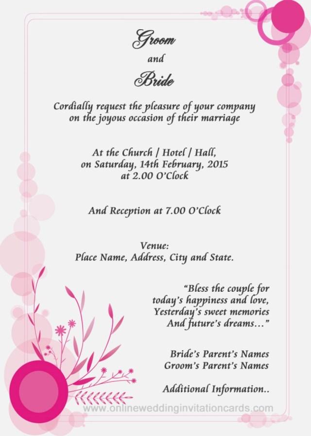 Sample Wedding Invitation Wedding Invitation Cards Samples Awesome Sample Wedding Invitation