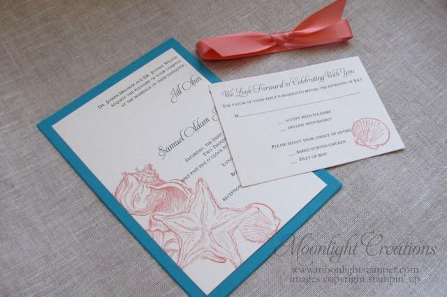 Seashell Wedding Invitations Beach Wedding Invitations Seashell Wedding Invites Turquoise