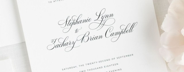 Simple Elegant Wedding Invitations Delicate Elegance Wedding Invitations Wedding Invitations Shine