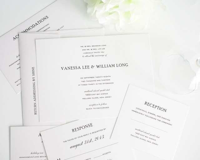Simple Elegant Wedding Invitations Simple Elegant Wedding Invitations Simple Elegant Wedding