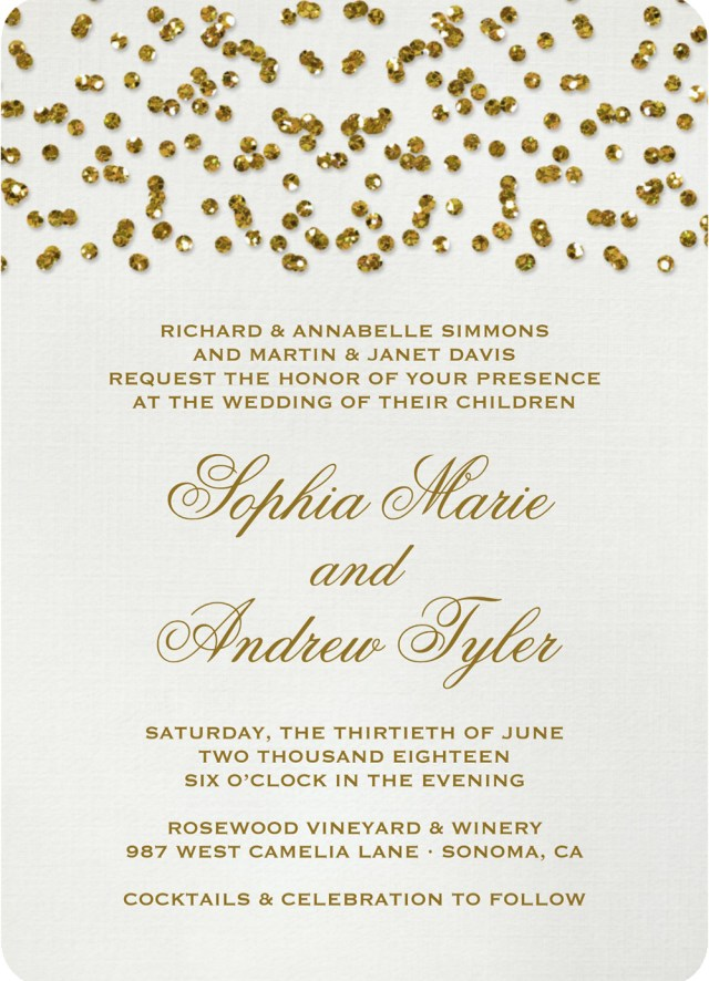 Sparkle Wedding Invitations 19 Glittery Wedding Stationery Ideas Hitchedcouk