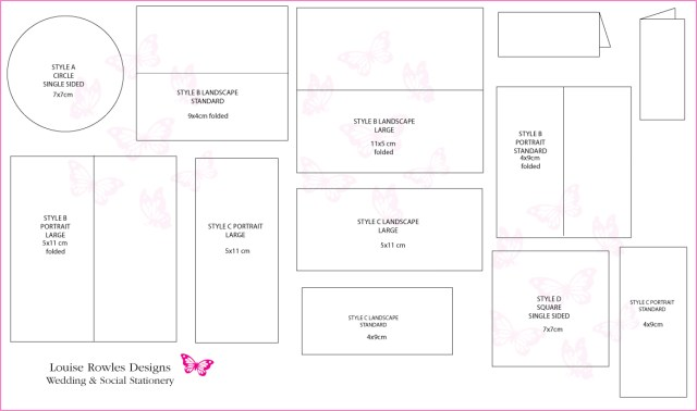 Standard Wedding Invitation Size Make Your Own Standard Wedding Invitation Size Free Templates