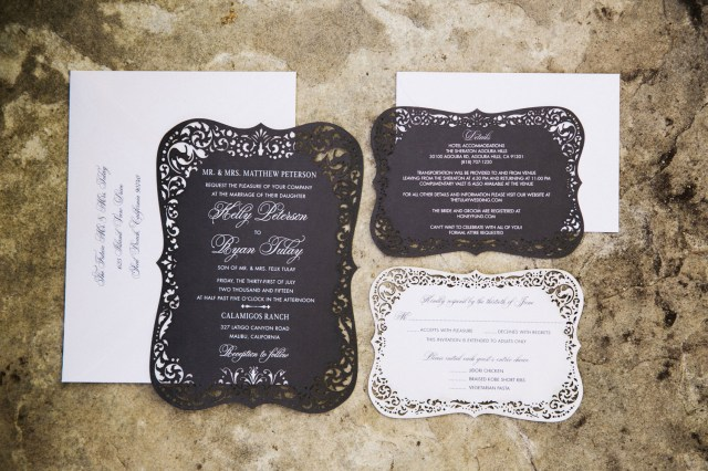 Stuffing Wedding Invitations How To Stuff And Send Your Wedding Invitations Inside Weddings