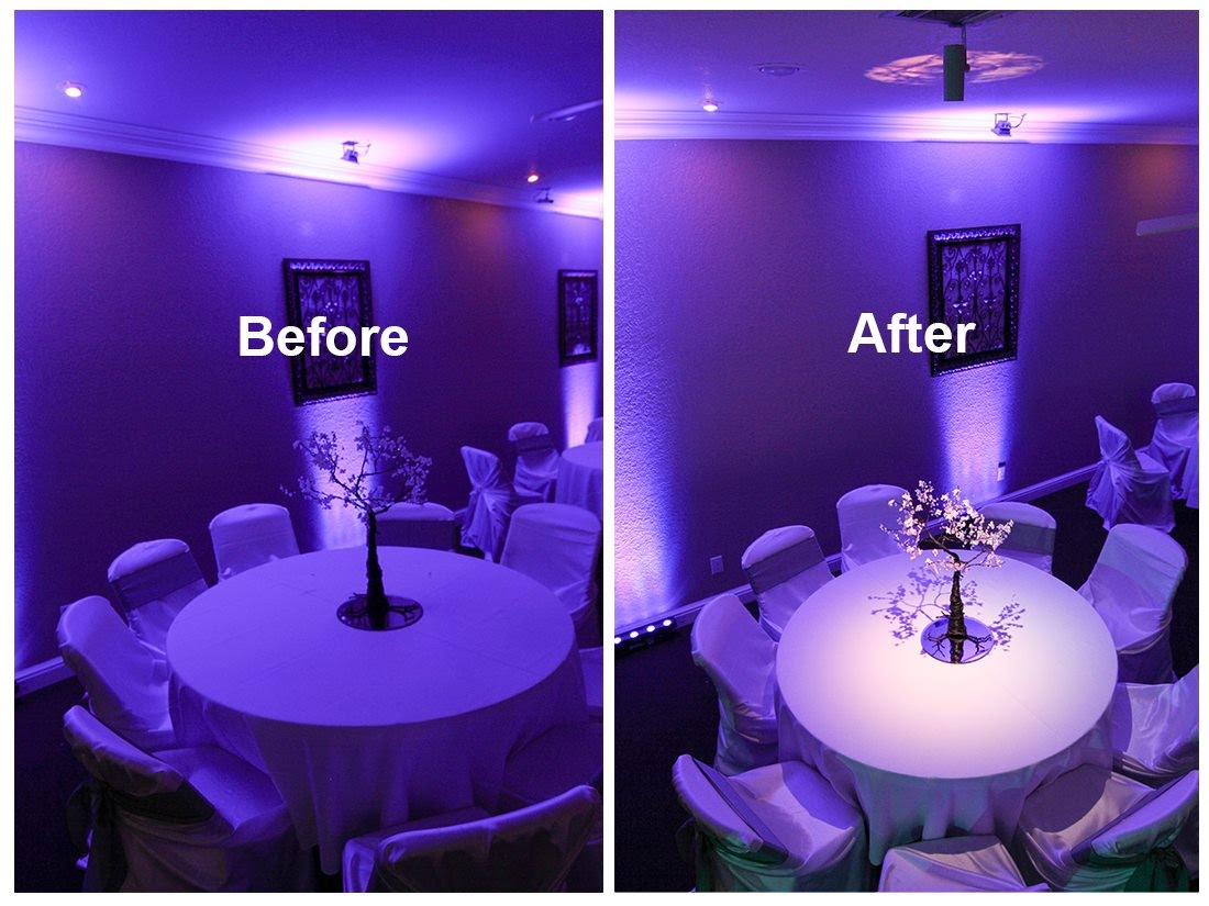Table Lights Wedding Wedding Lighting Powerbomb Productions