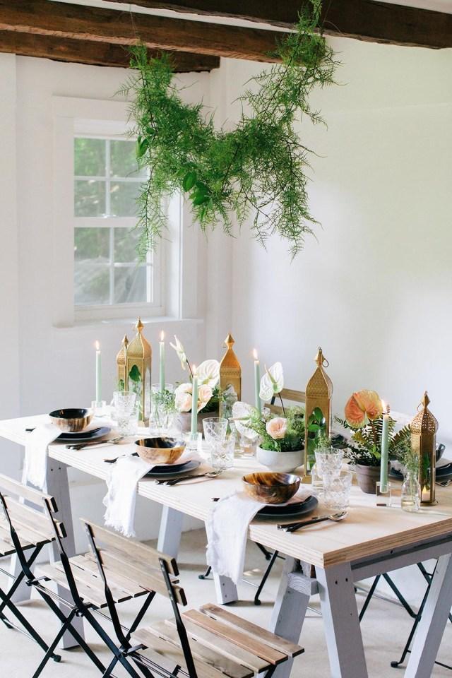 Table Wedding Decor 4 Long Table Centerpiece Ideas Great For Rectangular Tables The