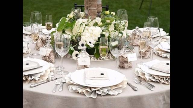 Table Wedding Decor Simple Wedding Table Decorations Ideas Youtube