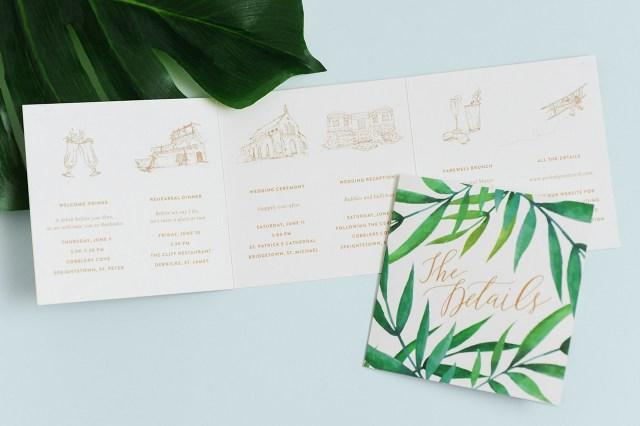 Tropical Wedding Invitations Paper Crush Tropical Destination Wedding Invitations