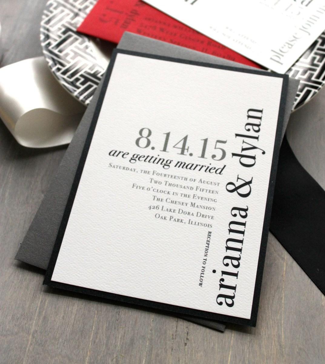 35+ Inspiration Picture of Unique Wedding Invitation Ideas