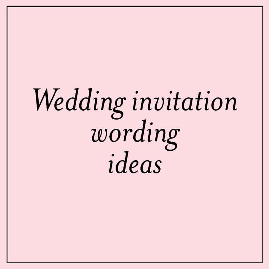 Unique Wedding Invitation Ideas Unique Wedding Invitation Wording Ideas Custom Invitations