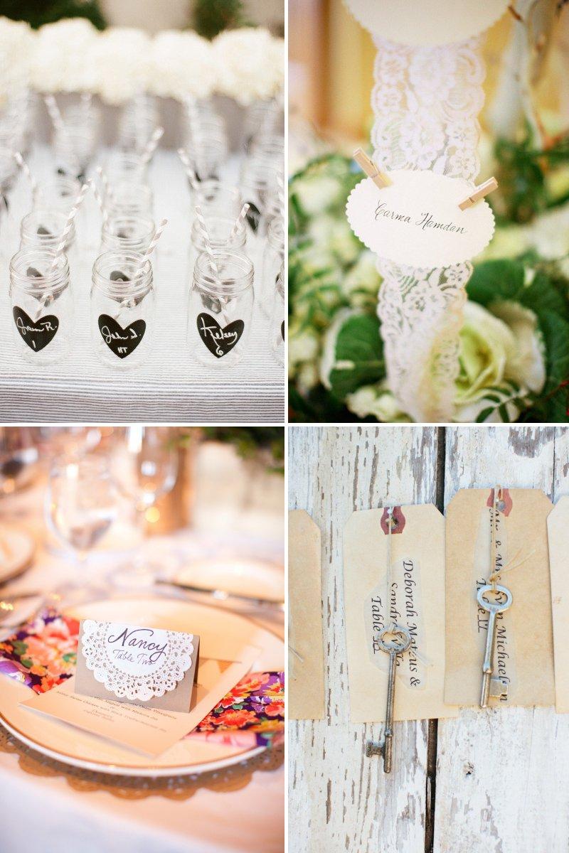 Unusual Wedding Ideas Unique Wedding Reception Ideas Escort Cards Diys
