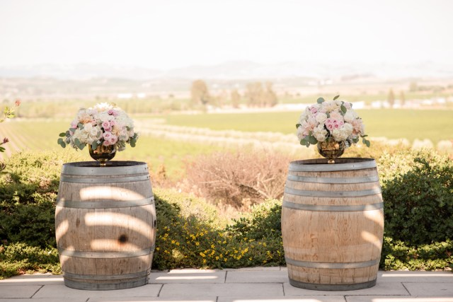 Used Wedding Decor Napa Wedding Trend Wine Barrel Wedding Decor Unveiled Zola