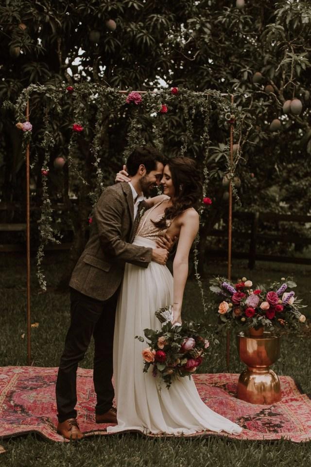 Vintage Wedding Ideas Colorful Boho Vintage Wedding Ideas For The Fearless Bride