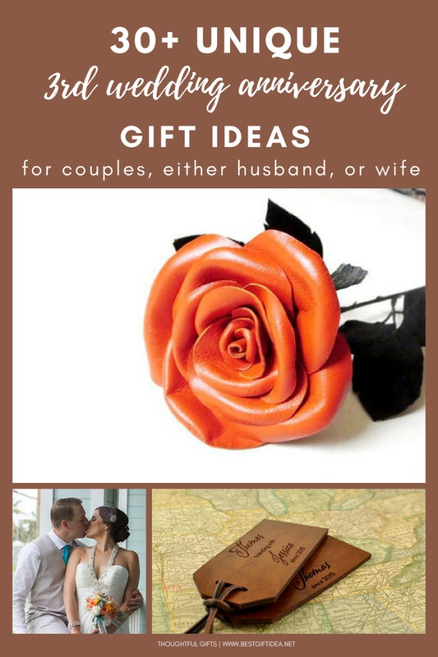 Wedding Anniversary Ideas Best Gift Idea 3rd Wedding Anniversary Gift Ideas Leather