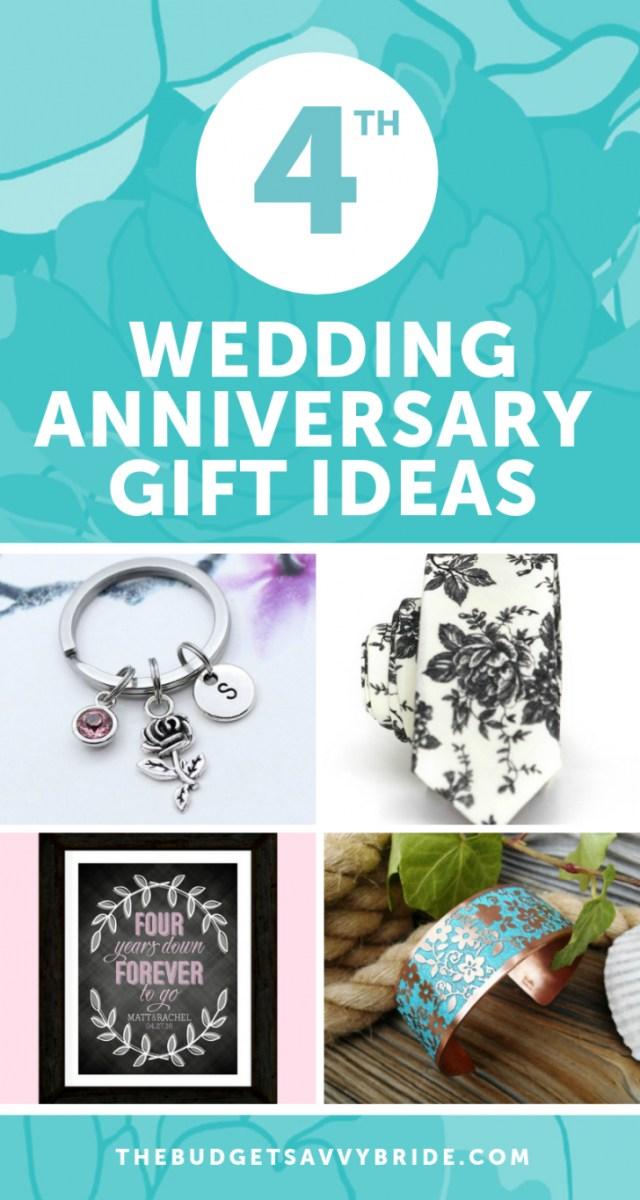 Wedding Anniversary Ideas Fourth Wedding Anniversary Gift Ideas