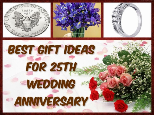 Wedding Anniversary Ideas Wedding Anniversary Gifts Best Gift Ideas For 25th Wedding Anniversary