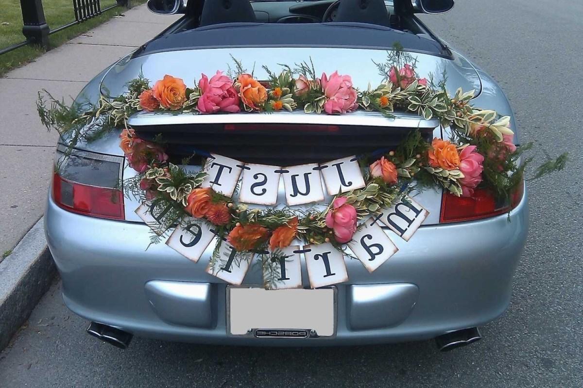 Wedding Car Decorations Ideas Car Decorations For Wedding Wedding Decoration