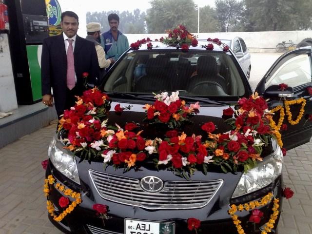 Wedding Car Decorations Ideas Wedding Car Decoration Pictures In Pakis On Pakistani Wedding Car