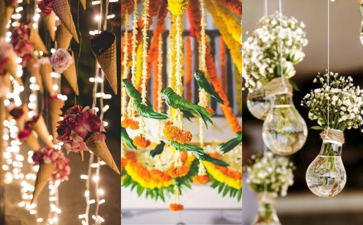 Wedding Ceiling Decorations Diy Hanging Decor Ideas For An Attractive Wedding