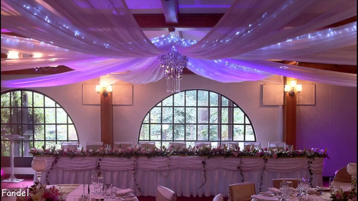 Wedding Ceiling Decorations Diy Wedding Party Ceiling Decorations Youtube