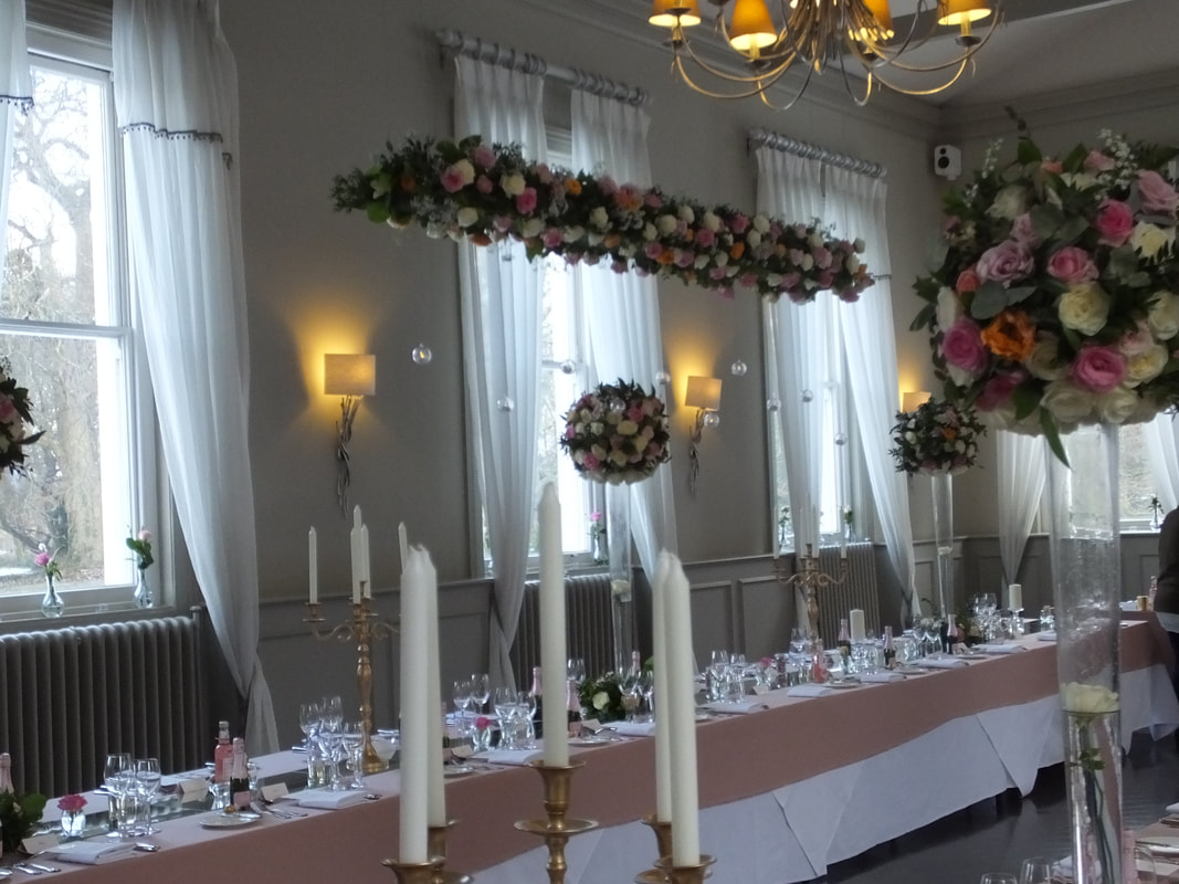 Wedding Ceiling Decorations Hanging Centrepieces Suspended Floral Wedding Centrepieces Uk