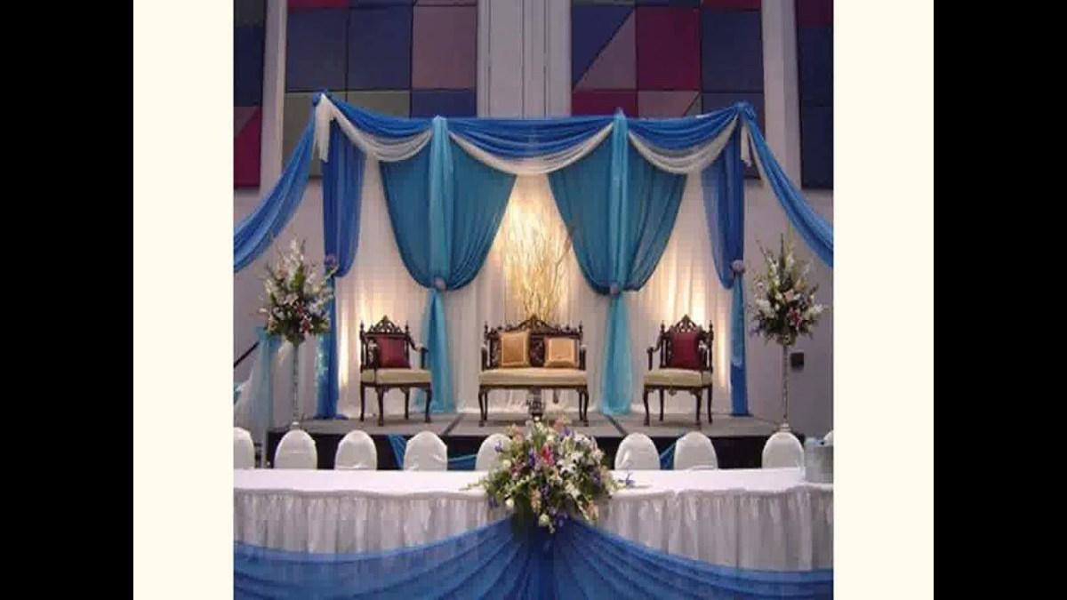 Wedding Ceremony Ideas Decoration Decoration Ideas For Wedding Reception New Youtube
