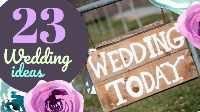 Wedding Cricut Projects 23 Wedding Ideas With Your Cricut Youtube