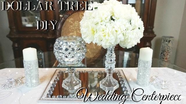 Wedding Decor Diy Ideas Diy Dollar Tree Wedding Centerpiece Diy Dollar Store Bling