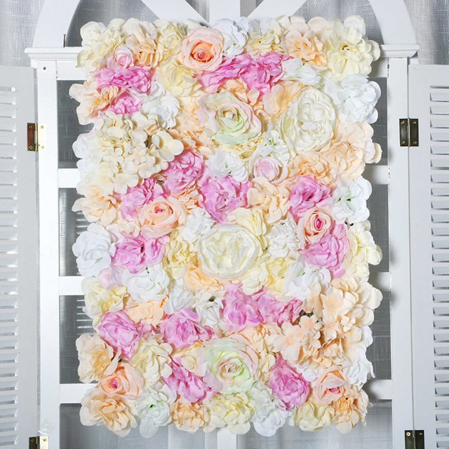 Wedding Decor Floral Detail Feedback Questions About 60x40cm Artificial Flower Wall