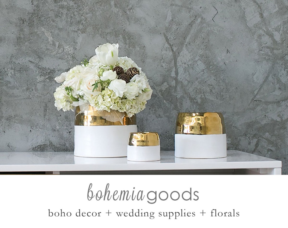Wedding Decor Gold Gold And White Pot Gold And White Cache Pot Gold Wedding Etsy
