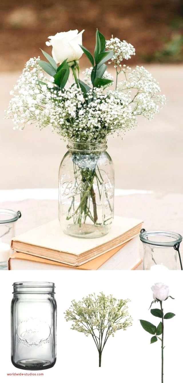 Wedding Decor List Top Result Diy Mason Jar Decoration Ideas Lovely 16 Simple Wedding