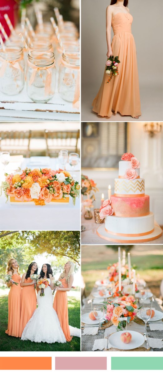 Wedding Decorations Colorful 25 Hot Wedding Color Combination Ideas 2016 2017 And Bridesmaid