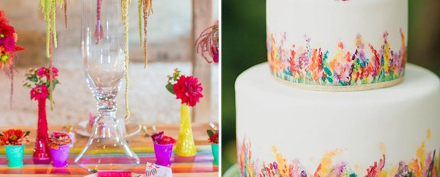 Wedding Decorations Colorful Simple Ideas To Create A Colourful Wedding Onefabday
