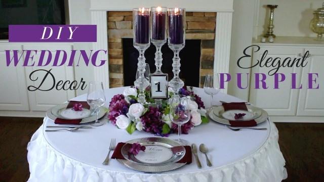 Wedding Decorations Elegant Elegant Diy Wedding Centerpieces Purple Wedding Decoration Ideas