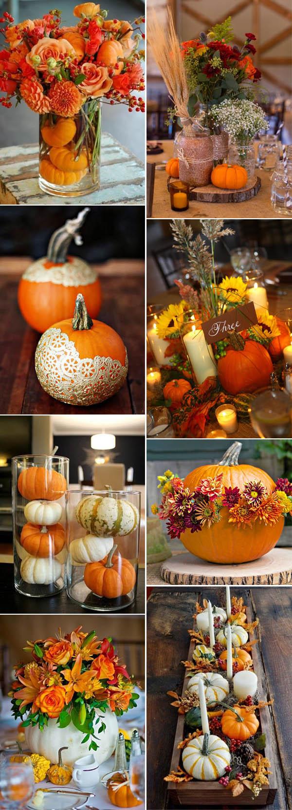 Wedding Decorations Fall 46 Inspirational Fall Autumn Wedding Centerpieces Ideas