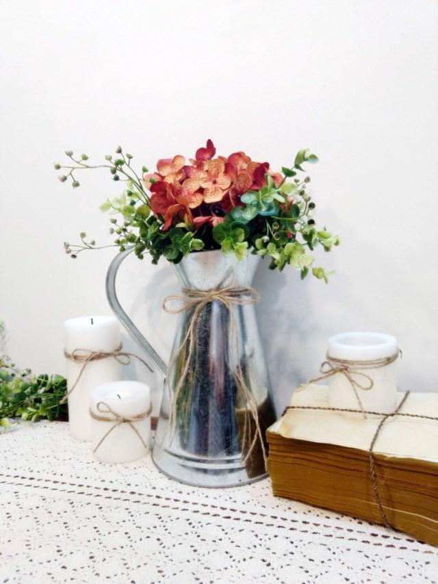 Wedding Decorations For Fall Farmhouse Table Centerpiece Fall Decor Wedding Decor Fall Etsy