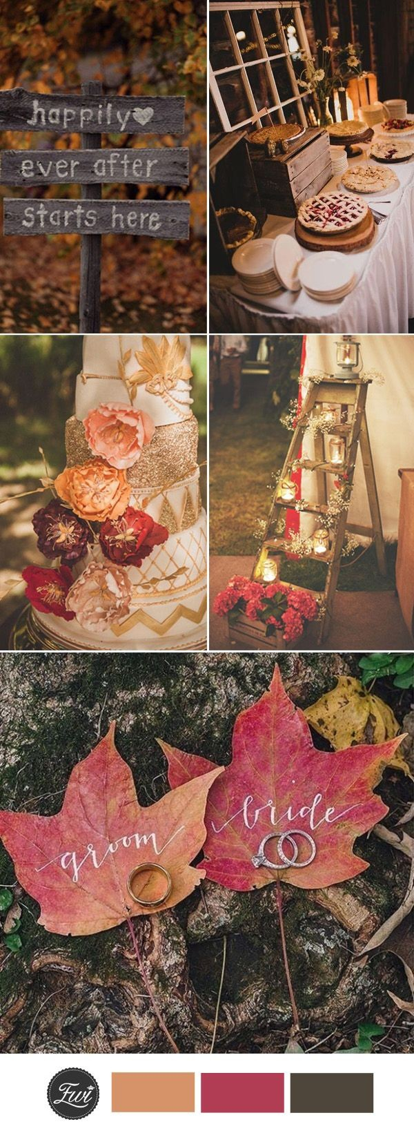 Wedding Decorations For Fall Impressive Fall Wedding Decorations Cheap Favor Ideas Diy Tagged