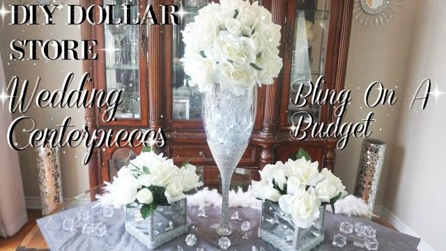 Wedding Diy Decorations Diy Wedding Centerpiece On A Budget Simple Diy Wedding Decor Diy Dollar Store Centerpiece