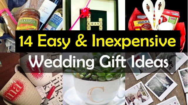 Wedding Gift Ideas Diy 14 Awesome Wedding Gift Ideas Youtube