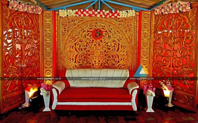 Wedding House Decorations 60th Wedding Stage Decoration Svp Farm House Pattanur