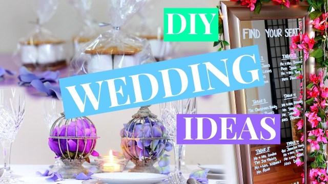 Wedding Ideas Decoration 3 Easy Wedding Decor Ideas Wedding Diy Nia Nicole Youtube