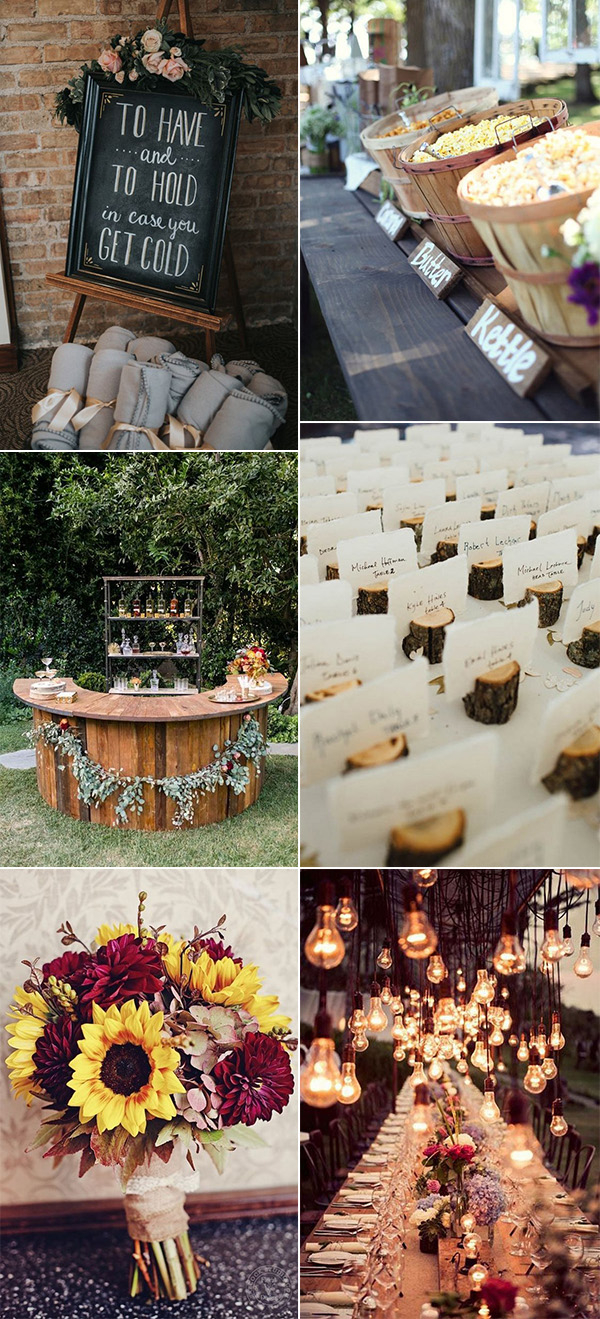 Wedding Ideas Fall 20 Fall Wedding Ideas Youll Fall In Love With Oh Best Day Ever