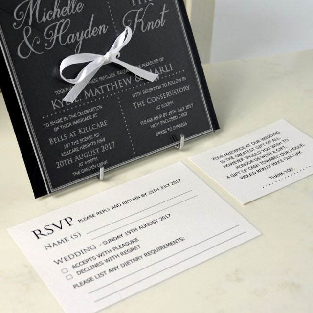 Wedding Invitation Bundles Limited Edition Engraved Square Clear Acrylic Wedding Invitation