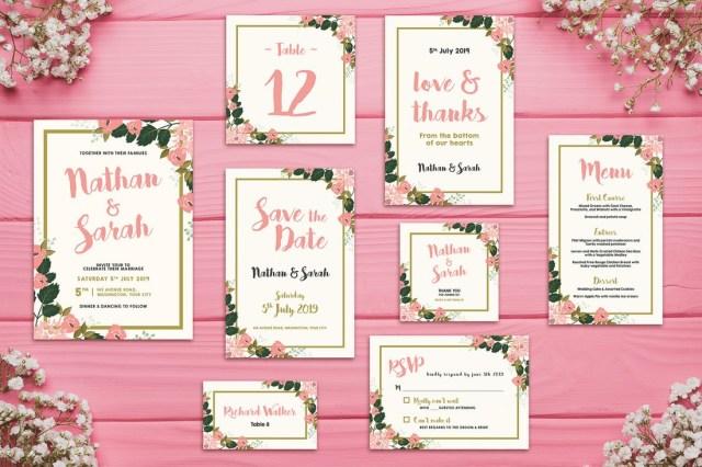 Wedding Invitation Example 50 Wonderful Wedding Invitation Card Design Samples Design Shack